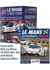 Le Mans 1990-99 Box Set & Book