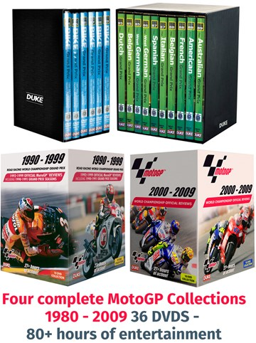 MotoGP DVD Box Set Collection 1980-2009 : Duke Video