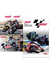MotoGP and Moto2/3 2016 (2 DVD)
