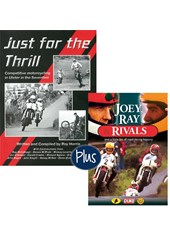Just for the Thrill book & Joey, Ray & Rivals DVD