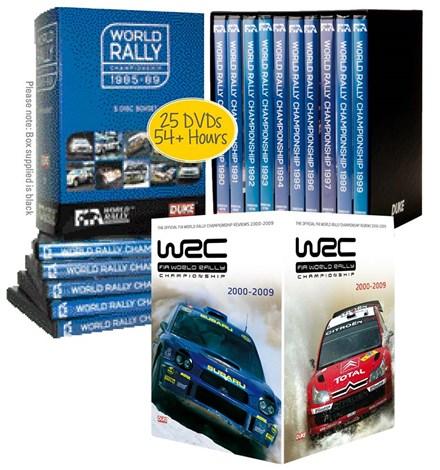 World Rally Reviews 1985-2009 DVD