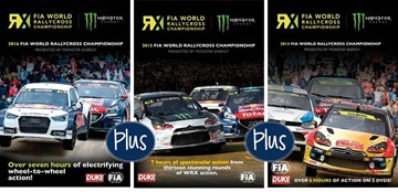 World Rallycross WRX 2014-2016 DVD - click to enlarge
