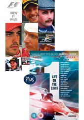 F1 How it Was DVD & 1 Life on the Limit DVD