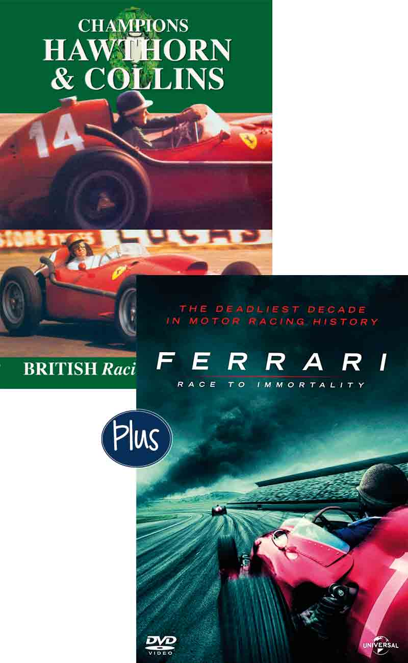 Ferrari race to immortality