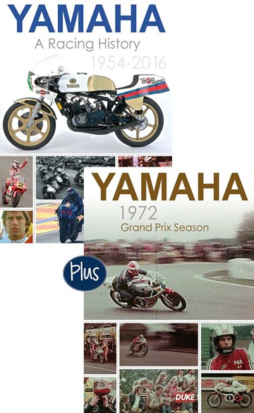 Yamaha A Racing History & Yamaha 1972 Grand Prix Season DVD - click to enlarge