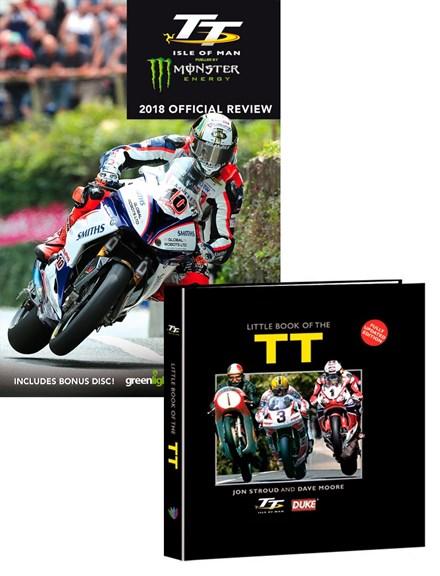 TT 2018 Review DVD with Little Book of the TT