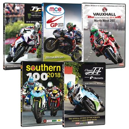 Road Racers 2018 5 DVD Bundle