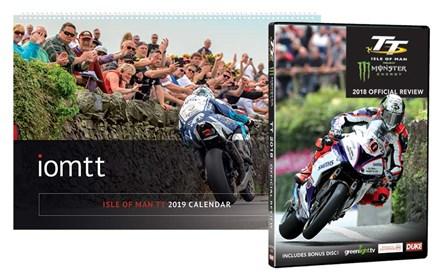 TT 2018 Review DVD & TT 2019 Wall Calendar