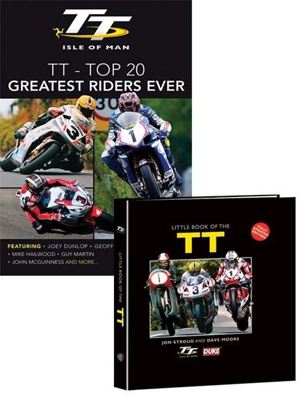 Little Book of TT & 20 Greatest TT Riders DVD