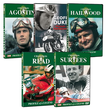 Classic Motorcycle Champions 5 DVD Collection