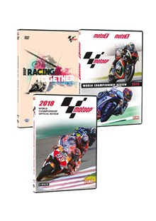 Racing Together DVD with MotoGP 2018 DVD & Moto 2/3 2018 DVD