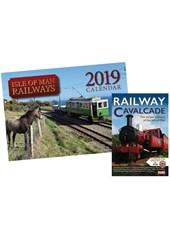 IOM Railways 2019 Calendar & Railway Cavalcade DVD