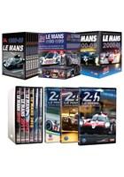 Le Mans 1980 to 2018 DVDs