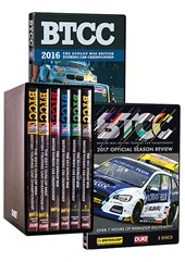 BTCC 2010 - 2015 Box Set With BTCC 2016 AND 2017 DVD