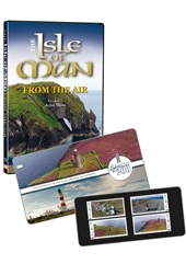 IOM Lighthouses Stamp Set &  IOM From the Air DVD