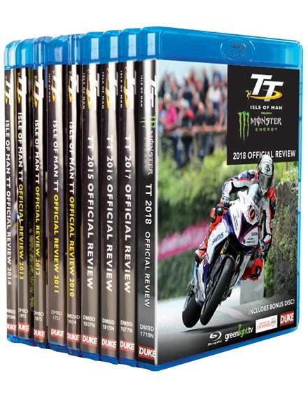 TT 2010 - 2018 Bluray Bundle