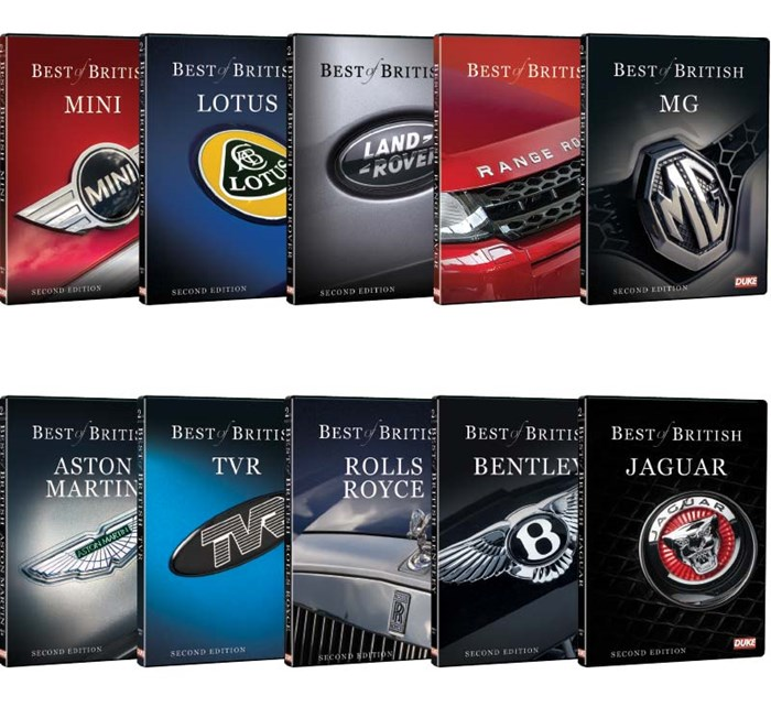 Best of British Motors DVDs