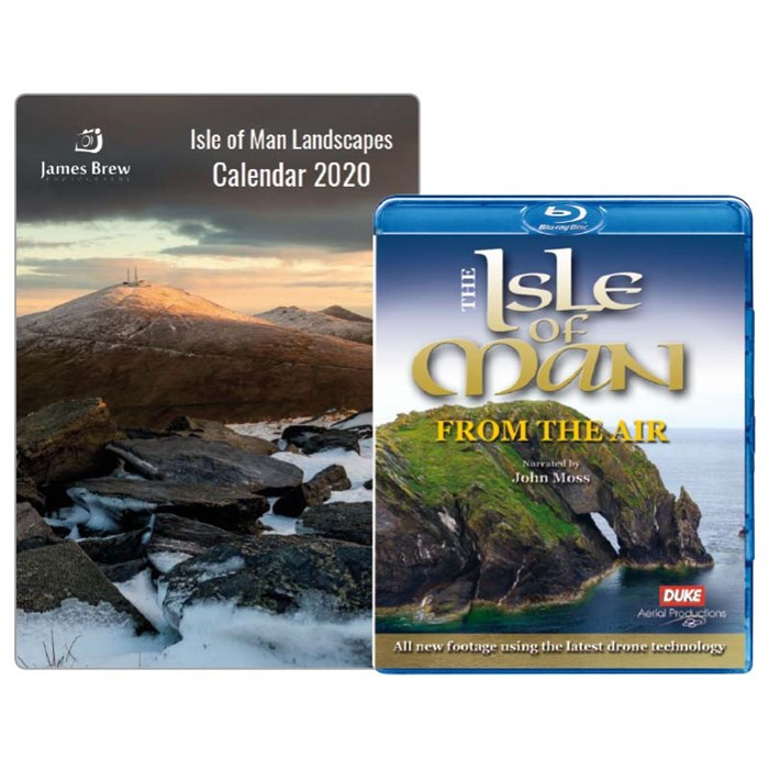Isle of Man from the Air Blu-ray & Calendar