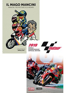 Moto GP 2019 Review DVD and Mancini DVD