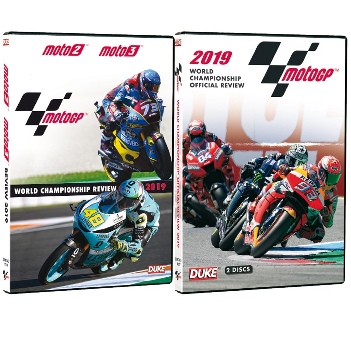 Moto GP 2019 Review DVD & Moto 2/3 2019 Review DVD
