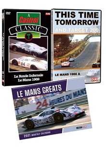 Le Mans Greats Calendar & Best of the 60s DVD