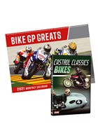 Castrol Classic Bikes DVD & Bike GP Greats Calendar 2021