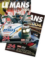 Le Mans 2004 and 2005 DVD Kit