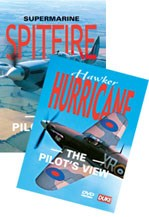 Hawker Hurricane and Spitfire Pilot's View DVD Kit