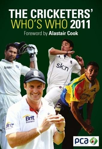The Cricketers' Who's Who 2011 (PB) - click to enlarge