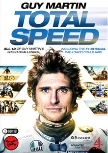 Guy Martin: Total Speed ( 3 Disc)  Box Set (series 1-3  F1 Special) Blu-Ray