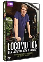 Locomotion: Dan Snow's History of Railways DVD