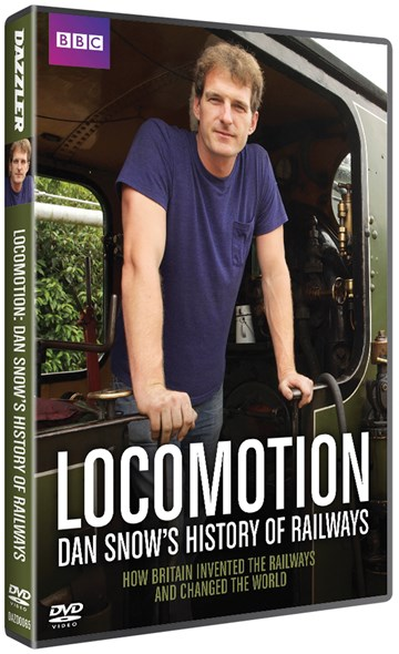 Locomotion: Dan Snow's History of Railways DVD - click to enlarge
