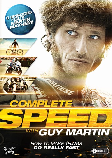 Guy Martin: Complete Speed DVD - click to enlarge