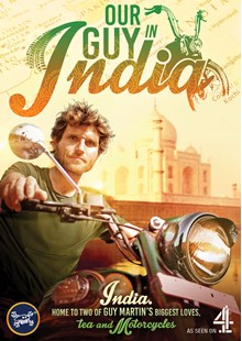 Guy Martin: Our Guy In India DVD