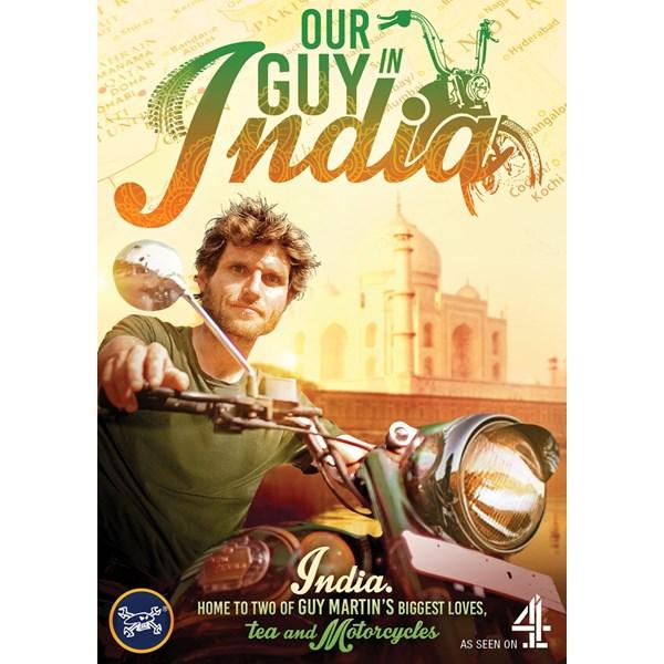 Guy Martin Our In India DVD Duke Video