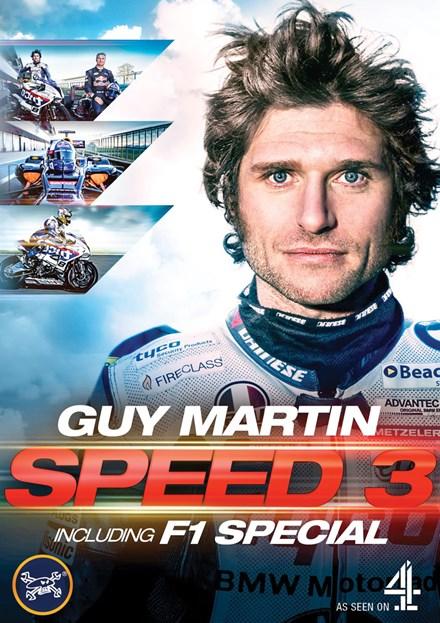 Guy Martin: Speed 3 With Guy Martin & Formula 1 DVD