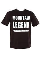 Mountain Legend Duke T-Shirt Black