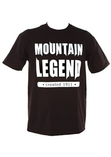 Mountain Legend Duke T-Shirt Black