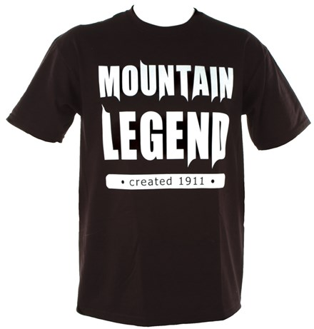 Mountain Legend Duke T-Shirt Black - click to enlarge