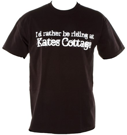 Kates Cottage Duke T-Shirt Black - click to enlarge
