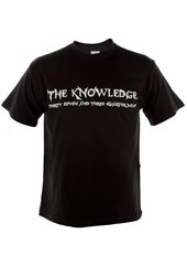 The Knowledge Duke T-Shirt Black