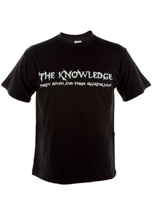 The Knowledge Duke T-Shirt Black