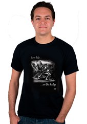 Live Life on the Hedge Geoff Duke T-Shirt