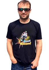 Bruce Anstey #BruceAlmighty T-shirt Black
