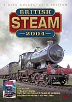 British Steam Review 2004 DVD