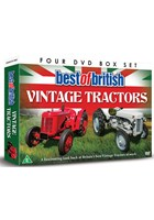 Best of British Vintage Tractors (4 DVD) Gift Set