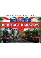 Best of British Heritage Railways (4 DVD) Gift Set