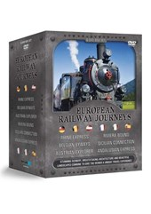 European Railway Journey 6 DVD Box Set
