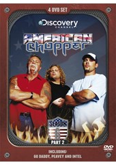 American Chopper Series 6 Part 43-45 ( 4 Disc) DVD