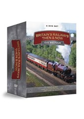 Britain's Railways Then and Now: The Big Four (5 DVD Set)